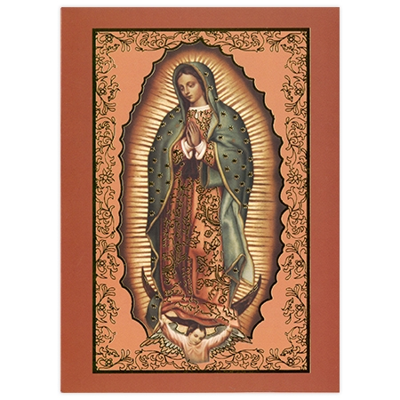 Tarjeta de Misa: Nuestra señora de Guadalupe