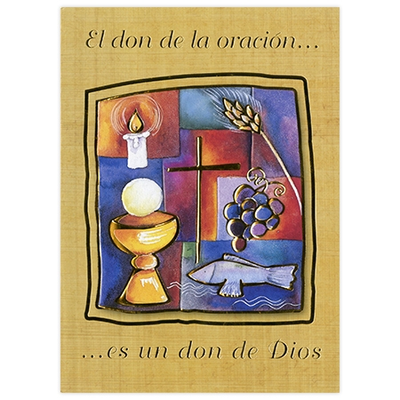 Folleto de inscripción espiritual